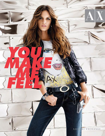 Izabel Goulart Armani Exchange