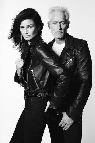 Caroline Ribeiro e Jorge Gelati