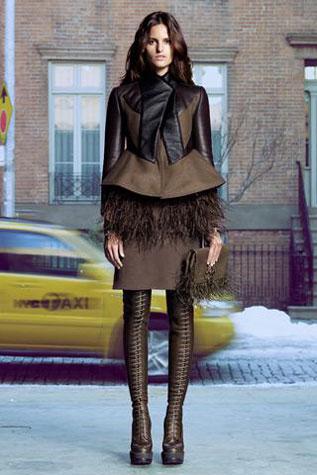 Izabel Goulart em campanha pasa Givenchi