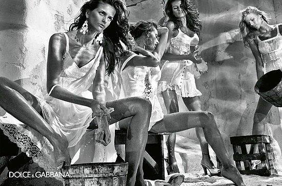 Izabel Goulart para Dolce & Gabbana