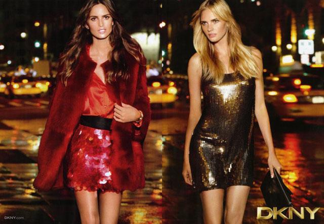 Izabel Goulart para coleção resort de DKNY