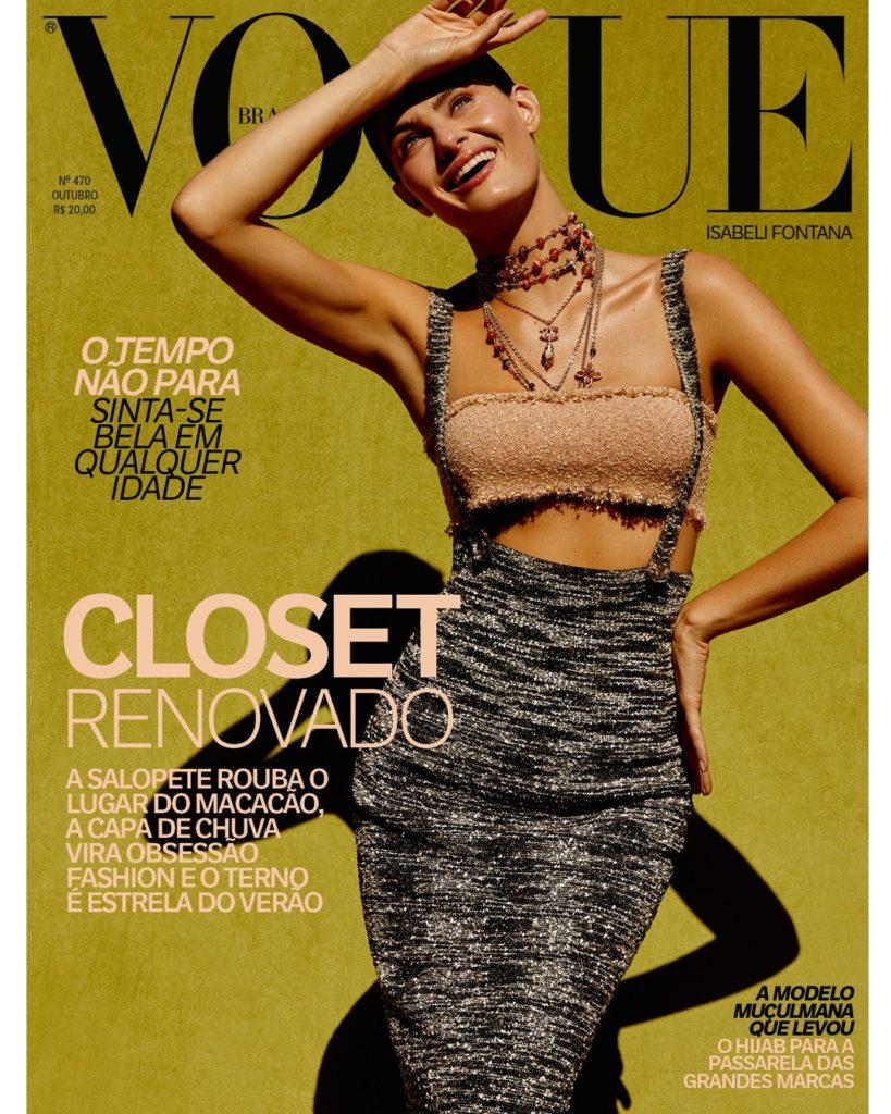 Vogue Brasil de Outubro com Isabeli Fontana 01