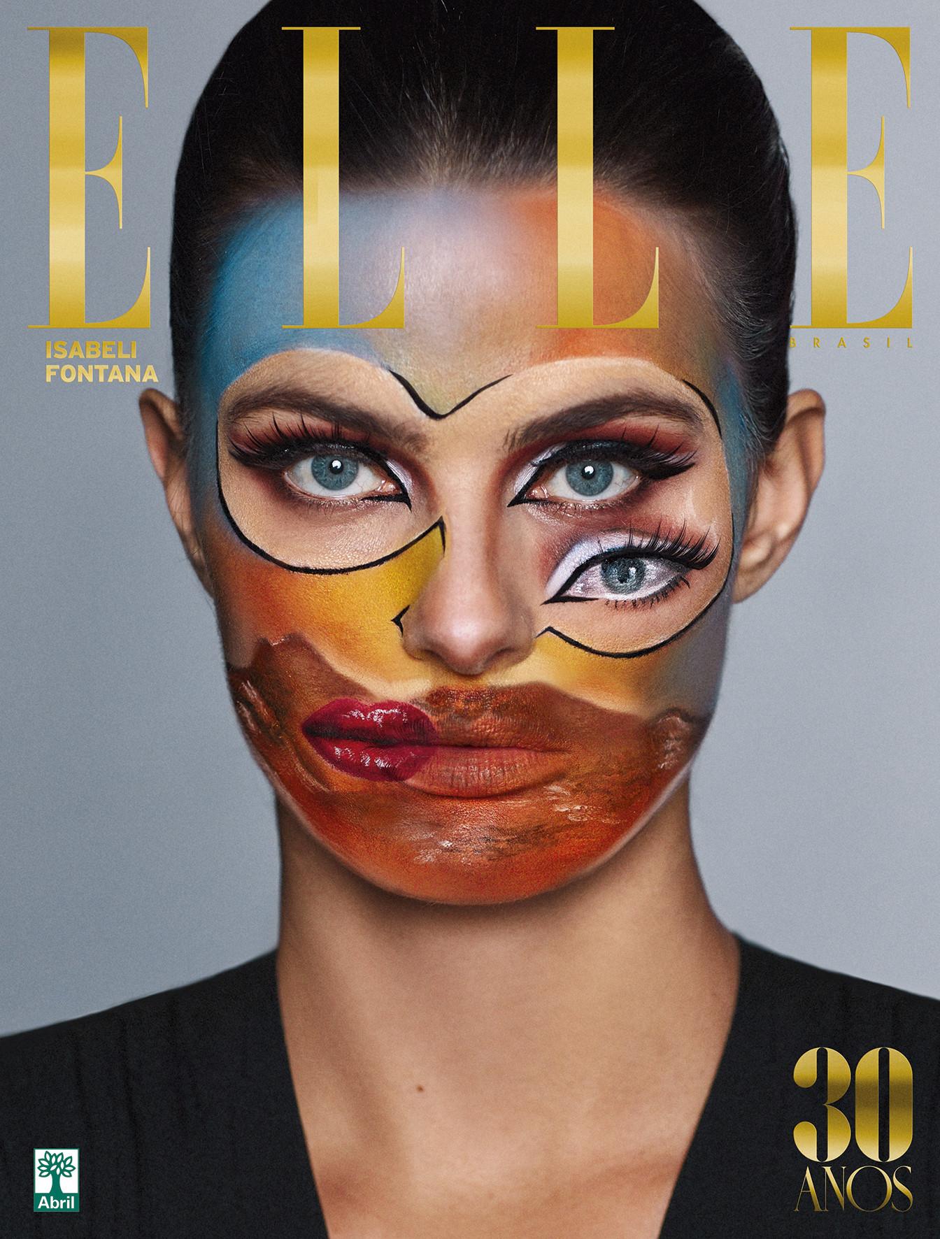 Agencias de Modelos - Isabeli Fontana para Elle Brasil Maio 2018 01