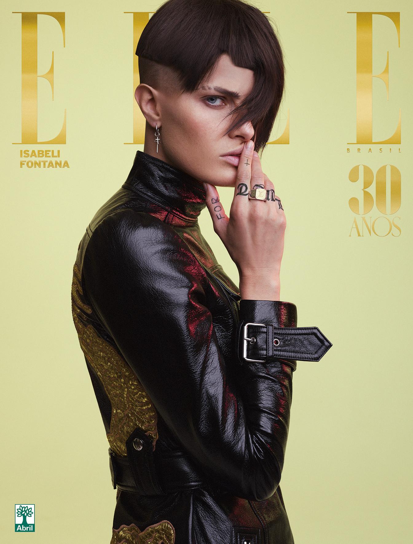 Agencias de Modelos - Isabeli Fontana para Elle Brasil Maio 2018 03
