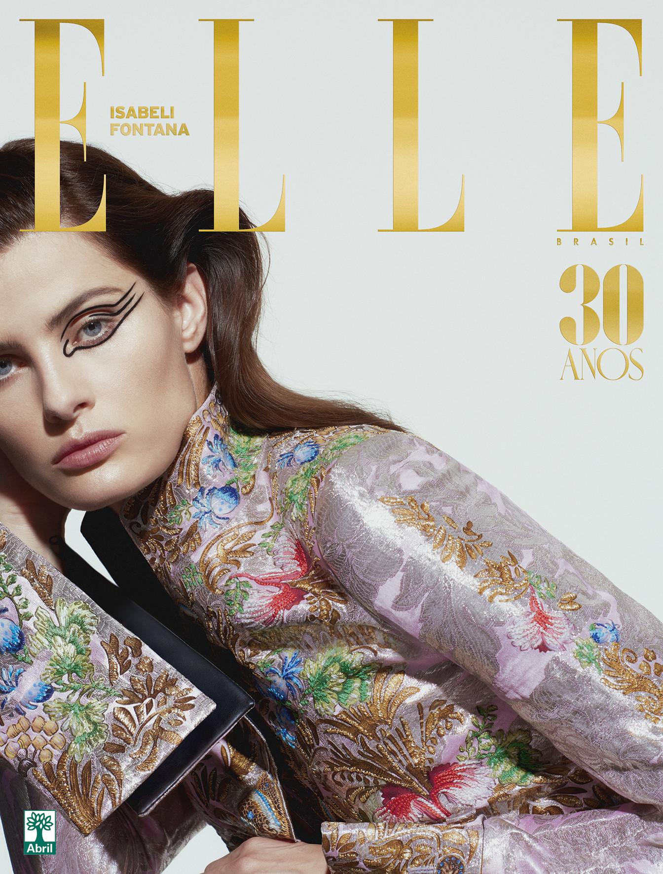 Agencias de Modelos - Isabeli Fontana para Elle Brasil Maio 2018 04